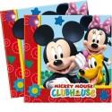 Kindergeburtstag-Party-Servietten Micky Maus