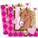 Pferde Kindergeburtstag-Party-Servietten, 20 Stück