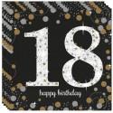 Geburtstagsservietten zum 18. Geburtstag, Sparkling Celebration