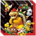 Party-Servietten Super Mario zum Kindergeburtstag