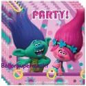 Trolls Kindergeburtstag-Party-Servietten, 20 Stück
