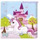 Unicorn Kindergeburtstag-Party-Servietten, 20 Stück