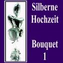 """Bouquet """"Silberne Hochzeit"""" 1"""