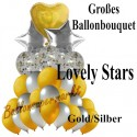 Luftballon-Bouquet, Lovely Stars