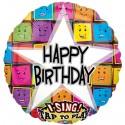 Singender Ballon, Happy Birthday Concert /ungefüllt
