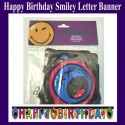 Geburtstag Happy Birthday Banner Smiley