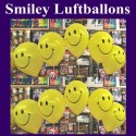 Motiv-Luftballons Smiley