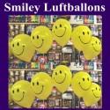 Motiv-Luftballons Smiley