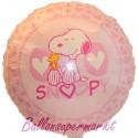 Snoopy Luftballon, Folienballon mit Ballongas