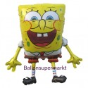 SpongeBob Luftballon ohne Helium, Schwammkopf Ballon