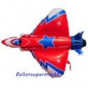 Luftballon Starfighter, Düsenjäger, Folienballon ohne Ballongas