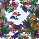 Streudekoration Geburtstag, Happy Birthday Konfetti