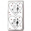 Taschentücher Marriage, Dekoration zur Hochzeit