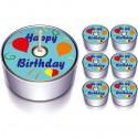 Happy Birthday Teelichter-Kerzen