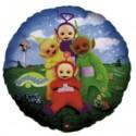 Luftballon Tele Tubbies Rund, Folienballon mit Ballongas