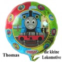 Luftballon Thomas and Friends, Folienballon ohne Ballongas