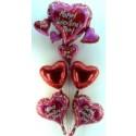 "Valentine Bouquet 2 ""plus 1"" (heliumgefüllt)"