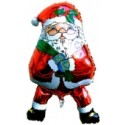 "Weihnachtsdekoration, Weihnachtsballons, Weihnachts-Mini Set Nikolaus-Shape ""10"""