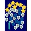 Weihnachten Luftballons, Weihnachtsdekoration, Weihnachts-Super-Maxi Set 1