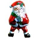 "Weihnachtsdekoration, Weihnachtsballons, Weihnachts-Mini Set Nikolaus-Shape ""100"""