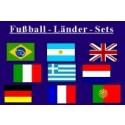 Fußball-Länder - Set 2