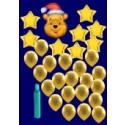 Weihnachten Luftballons, Weihnachtsdekoration, Weihnachts-Maxi Set 5