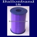 Ballonband, Luftballonbänder 1 Rolle 500 m, Lila