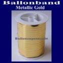 Ballonband, Luftballonbänder 1 Rolle 250 m, Metallic-Gold