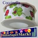 Deko-Zierband Coccinella, 1 Rolle