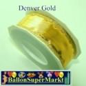 Deko-Zierband Denver, Gold, 1 Rolle