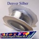 Deko-Zierband Denver, Silber, 1 Meter
