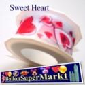 Deko-Zierband Sweet Heart, 1 Rolle