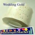 Deko-Zierband Wedding-Gold, Hochzeit, 1 Meter