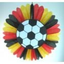 Fußballdeko-Rosette Deutschland, zweiseitig