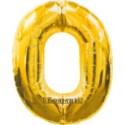 "Folienballondeko ""0"" (heliumgefüllt)"