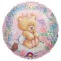 Lovely Baby Girl Luftballon (heliumgefüllt)
