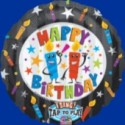 Singender Ballon: The Flames Birthday