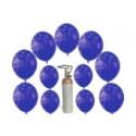 """""""Ich wünsch mir"""" Set 30 Silvesterwünsche mit dem Helium-Einweg-Behälter"""