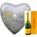 """Just Married"" Veuve Clicquot"