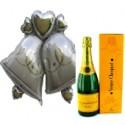 """""""Hochzeitsglocken"""" Veuve Clicquot"""