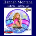 Hannah Montana, Bubble Luftballon (mit Helium)