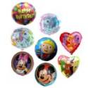 Midi-Karton: Auswahl 45cm Folienballons