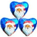 Weihnachtsglückwünsche Nikolaus Blau