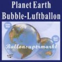 Planet Earth, Bubble Luftballon (ohne Helium)