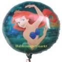 Arielle, Luftballon, Walt Disney, Meerjungfrau, Ballon aus Folie (ohne Helium)