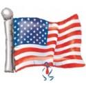 USA Flagge Luftballon ohne Helium, USA Ballon