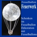 Fesselballon-Feuerwerk