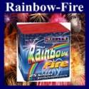 Feuerwerk Rainbow Fire, Batteriefeuerwerk