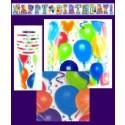 "Geburtstagsdeko-Set ""Balloons"""