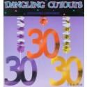 Geburtstag  Dangling Cutouts 30